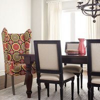 Preslie Dining Table & Upholstered Seating
