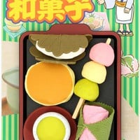 Iwako erasers Japanese Sweets 5 pieces set - Dessert Eraser - Eraser - Stationery