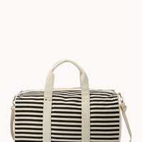 Classic Striped Weekender Bag | FOREVER 21 - 1000075453
