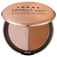 Sephora: LORAC : TANtalizer® Highlighter & Matte Bronzer Duo : bronzer-face-makeup