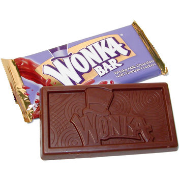 Willy Wonka Chocolate Bars - ORIGINAL: 18-Piece Box | CandyWarehouse.com Online Candy Store