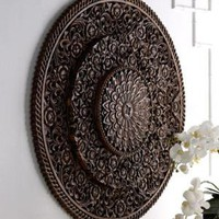 Barn Yen Thai-Carved Wall Decor-Horchow