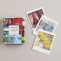 Paris in Color Notecards, Set of 12 | World Market