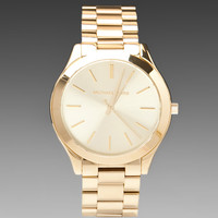 Michael Kors Slim Classic Watch in Metallic Gold