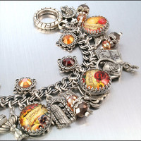 Charm Bracelet How does Your Garden Grow by BlackberryDesigns