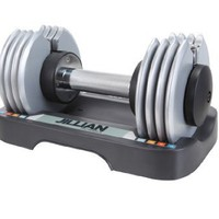 Jillian Michaels Ultimate 25 lb. Adjustable Speed Dumbbell