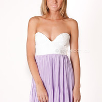 pre-order - one and only cocktail dress - lilac - arrives mid september at Esther Boutique