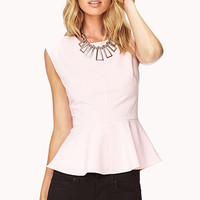 Sweet Peplum Top | FOREVER 21 - 2059031721