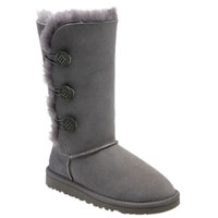 UGG Australia 'Bailey Button Triplet' Boot (Little Kid & Big Kid)