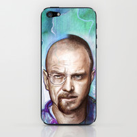 Walter White + Jesse Pinkman - Breaking Bad iPhone & iPod Skin by Olechka