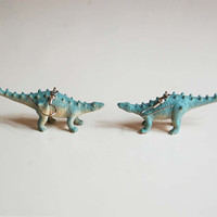 Dinosaur Rumble dinosaur earrings dinosaur jewelry
