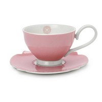 'Dream' Tea Cup & Saucer Pink
