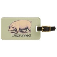 Disgruntled Pig Bag Tags