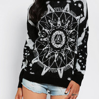 Staring At Stars Mystical Jacquard Sweater