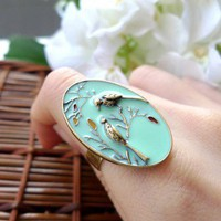 Bird Whistle Ring - New Arrivals - Retro, Indie and Unique Fashion