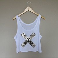 Tiger xx Crop Top