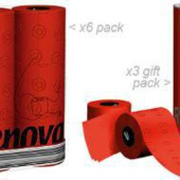 Renova Toilet Tissue ? red toilet paper - buy online from Red Candy