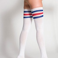 American Apparel Stripe Thigh-High Sock