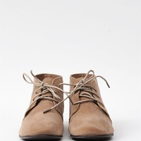 Sandy Oxford High Tops - Taupe