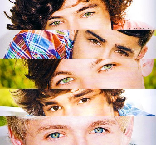 One Direction Eyes <3