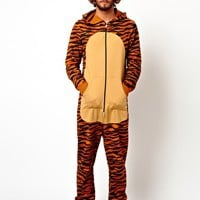 ASOS Tiger Onesuit at asos.com