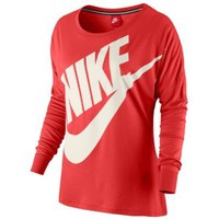 Nike Signal Loose L/S T-shirt - Women's at Foot Locker
