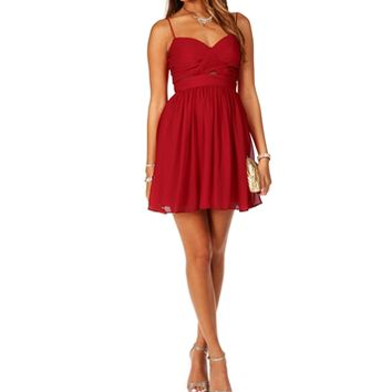 Elly- Short Homecoming Dress
