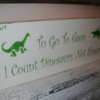 Dinosaur Nursery Art!