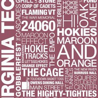 Virginia Tech Pride Print  - Wall