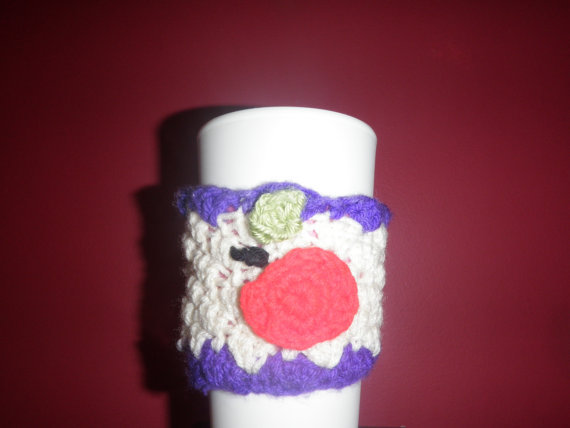 back to school coffee cozy, cup cozy, beer cozy