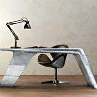 Aviator Wing Desk | Cool Material