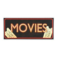 Movies LED Canvas Art | Kirkland's