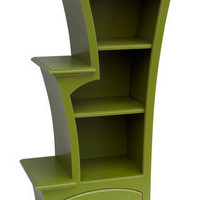 Bookcase No7 in your choice of color by DustFurniture on Etsy