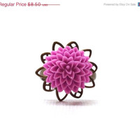 Vac Sale, Will Ship 8/19 Lilac Purple Mum Ring