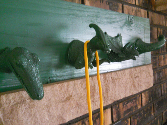 Dinosaur Room Hanger Wall Decor Coat Hanger by EvangelinasCloset