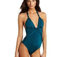 Vitamin A Women's Hollywood Ruched Maillot
