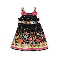 Youngland- -Infant & Toddler Girl's Sundress - Floral-Baby-Baby & Toddler Clothing-Dresswear