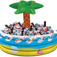 Amscan Palm Tree Inflatable Cooler:Amazon:Toys & Games