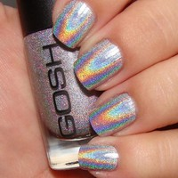 GOSH HOLOGRAPHIC Hero 549 Silver--WOW--