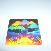 vintage stickers holograph hologram teddy bear umbrells rainbing unused SHOP SALE % OFF read shops welcome page