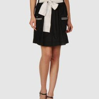 SUPREME BEING Women - Skirts - Knee length skirt on YOOX United States $64