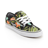 Vans Chukka Low Aloha Black & Mint Canvas Skate Shoe at Zumiez : PDP