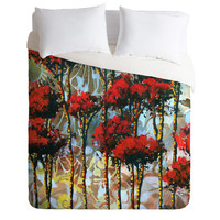DENY Designs Home Accessories | Madart Inc. Whispering Trees Duvet Cover