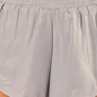 Rehab Clothing Metallic Shorts $38