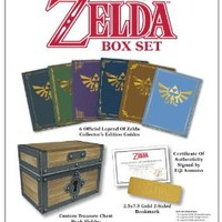 The Legend of Zelda Box Set: Prima Official Game Guide [Hardcover]