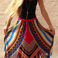 The Color Spill Skirt