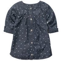 Chambray Dot Tunic