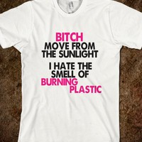 I HATE PLASTIC!