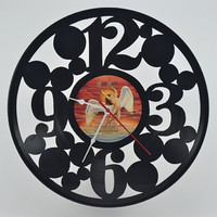 Unique Vinyl Record Wall Clock (artist is Bad Company)