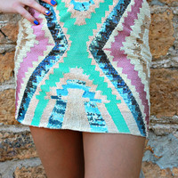 Native Spring Skirt